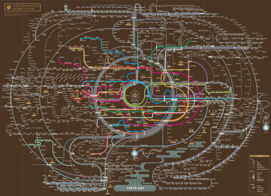 Zero By Zero - New York Tube Map - Information Is Beautiful