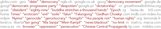 What Does China Censor Online?